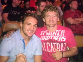 Ben Askren and Mike Chandler