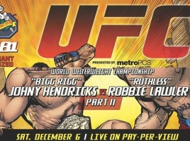 UFC 181 DC Poster featured